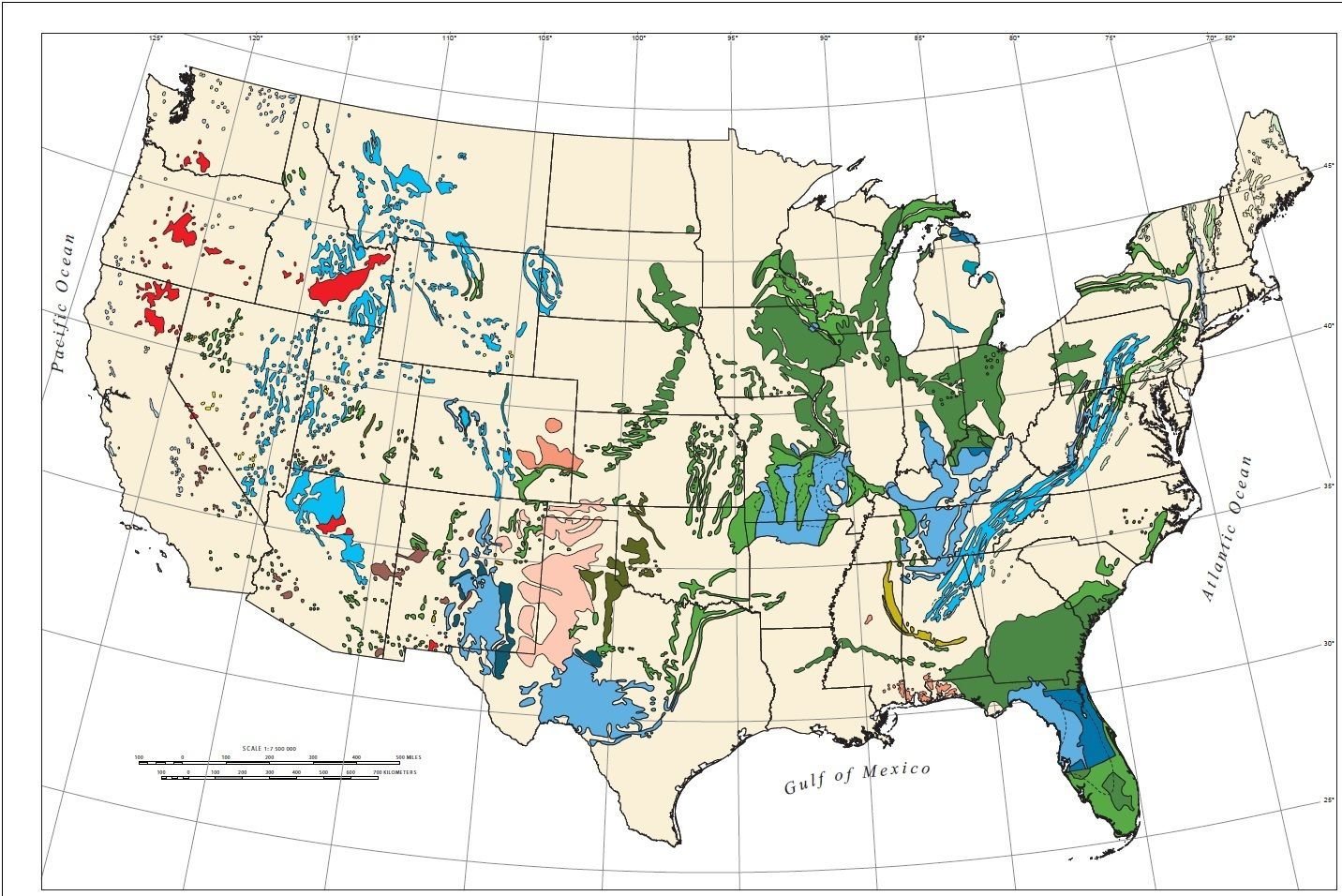 US Sinkhole Map Map Of Sinkholes In The US These Maps Show That - Map of us volcanoes