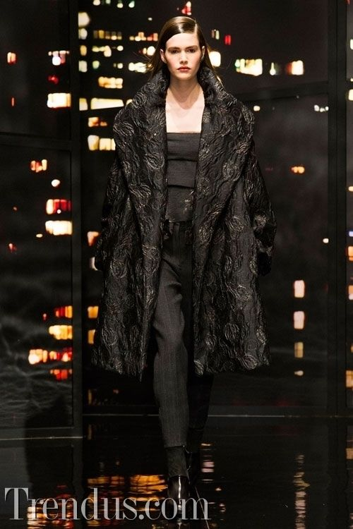 NYFW Donna Karan 2015 Kış