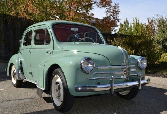 Bat Exclusive 35 Years Owned 1958 Renault 4cv Vintage Cars 1950s Renault Renault 4