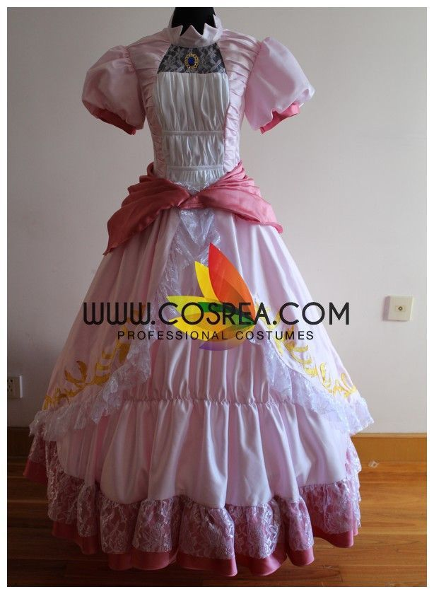 Super Mario Princess Peach Cosplay Costume Wedding Inspiration