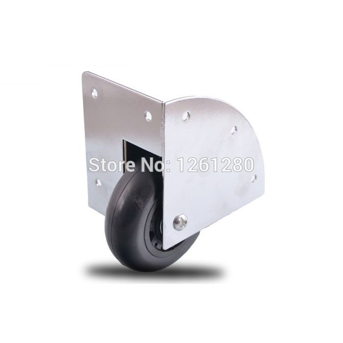 (Buy here: http://appdeal.ru/smw ) free shipping wheel mute caster  wooden box wheel rod box built-in industrial wheel airbox toolcase bearing wheel hardware for just US $28.80