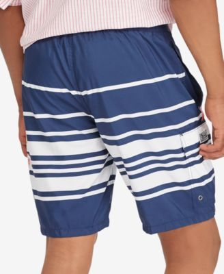 307b50ed6f Polo Ralph Lauren Men's Big & Tall Kailua Swim Trunks - Navy Stripe 4XB