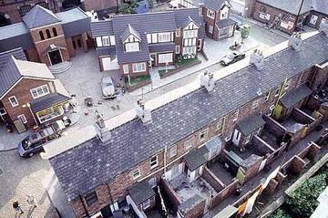 The Set Of Coronation Street Nough Said Coronation Street Coronation Street Set Coronation