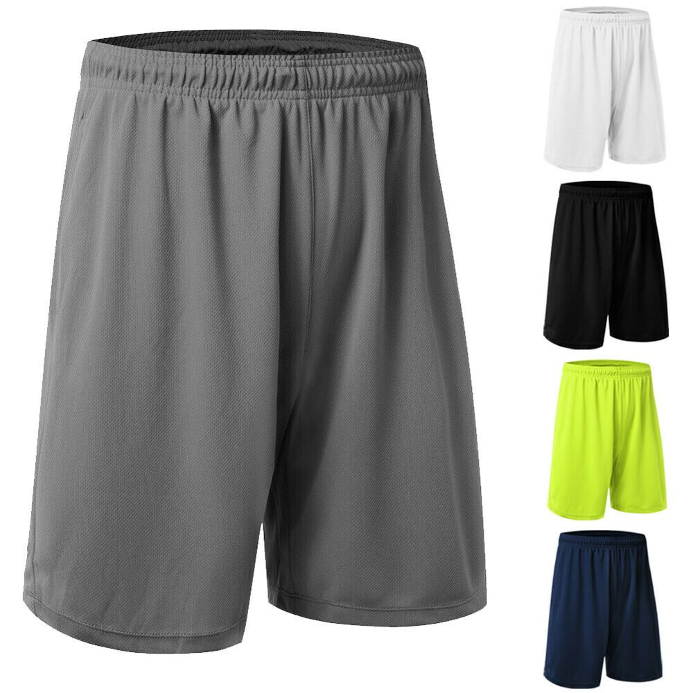 Quick-Dry Men Loose Basketball Shorts Sports Short Pants Boy Gym Half Trousers