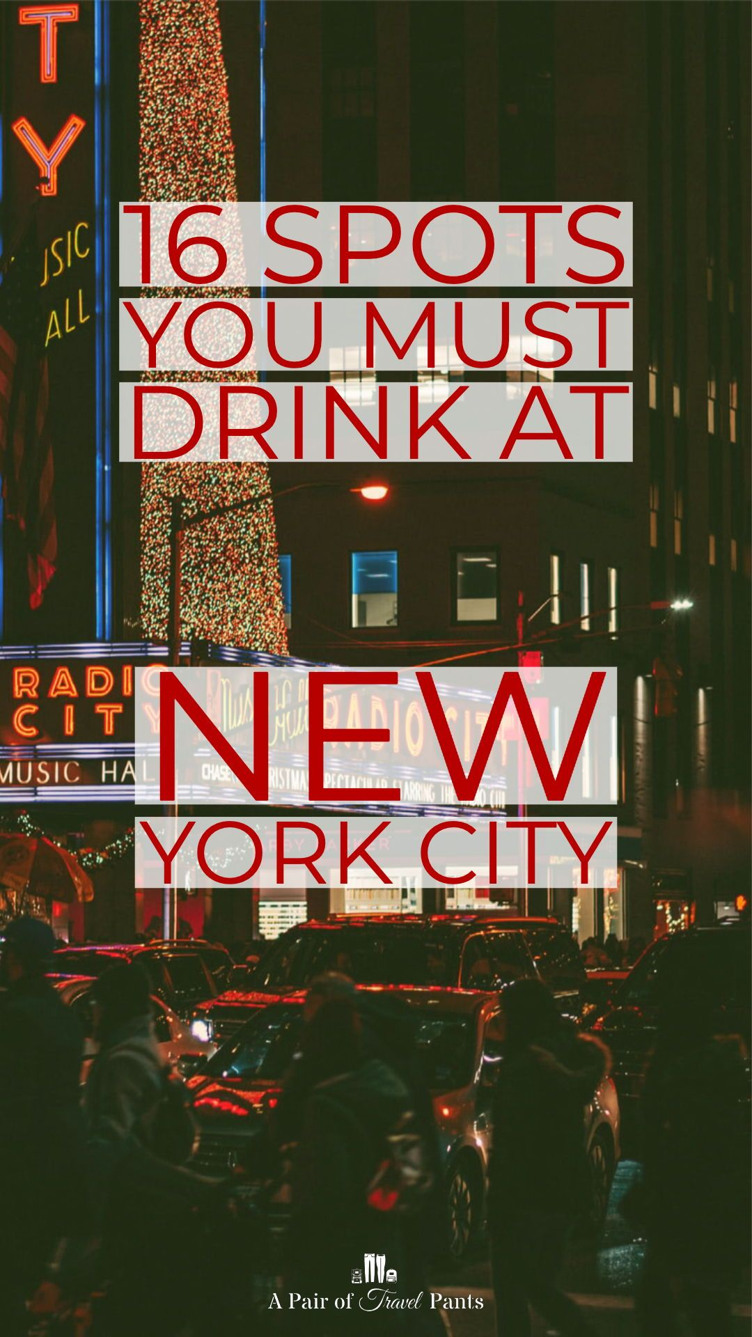 16 Places You Must Drink In New York City