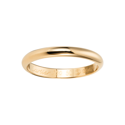 c305fb9d236 Cartier 18K yellow gold wedding band. Width  2.5 mm (men )