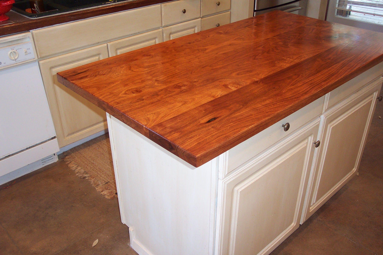Mesquite Face Grain Or Plank Style Center Island Top Home Decor Countertops Decor