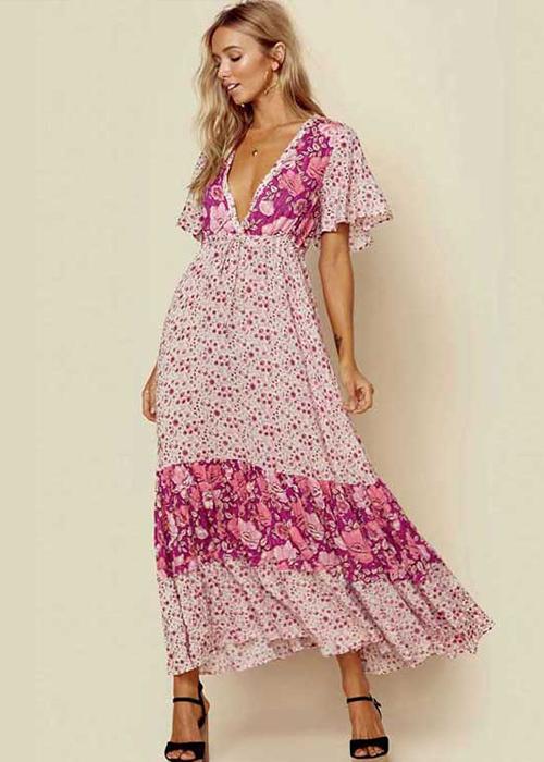 Honeymoon Outfits · Spell Winona Gown Berry. Shop now! Boho Style Dresses 6b8e2e18cfbc
