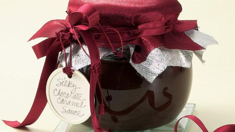 Silky ChocolateCaramel Sauce Recipe Homemade wedding