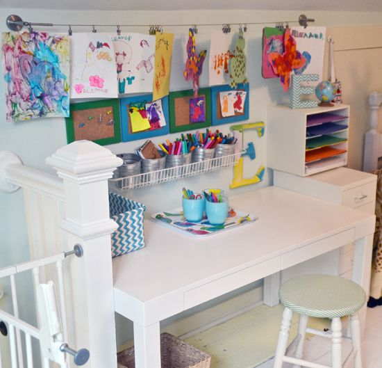 Kids Study Area Ideas: 33 Reader Spaces: Monthly Link Up Greatness!