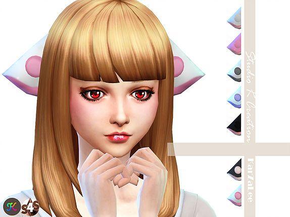 Studio K Creation Chobits Ears Sims 4 Sims 4 Anime Sims 4