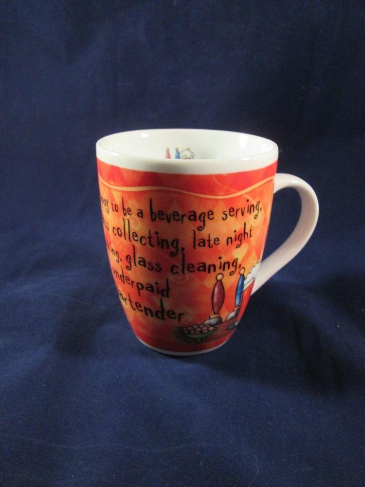 HISTORY & HERALDRY Brilliant Bartender Coffee Cup Mug Its