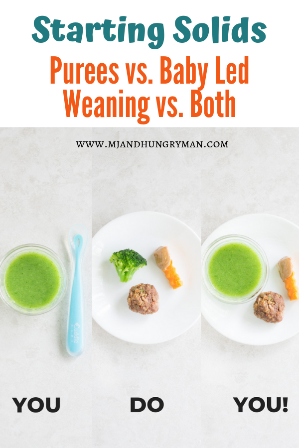 Starting Solids - Purees or Baby Led Weaning?