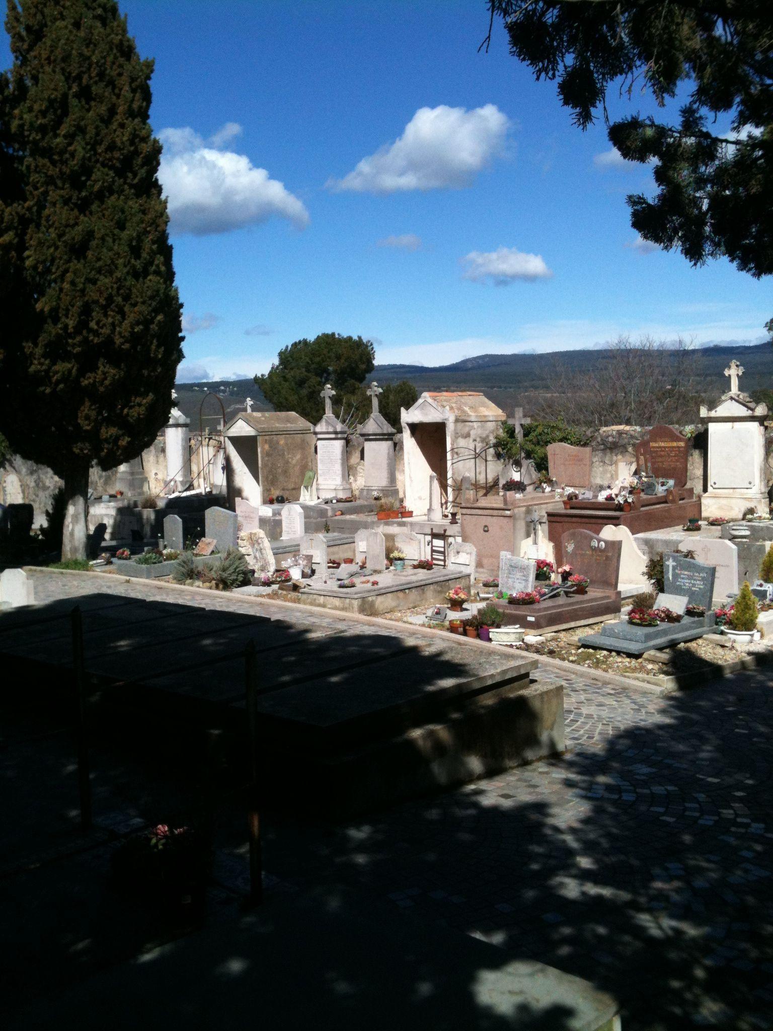 Cementerio de Castellet. Francia