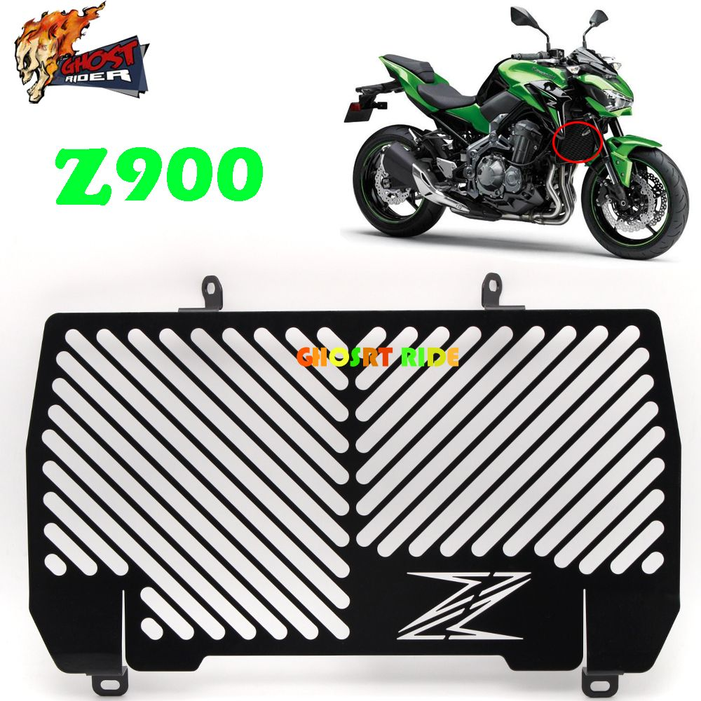 Motorcycle Radiator Grille Guard Protection For Kawasaki Z900 Z 900 2016 2017