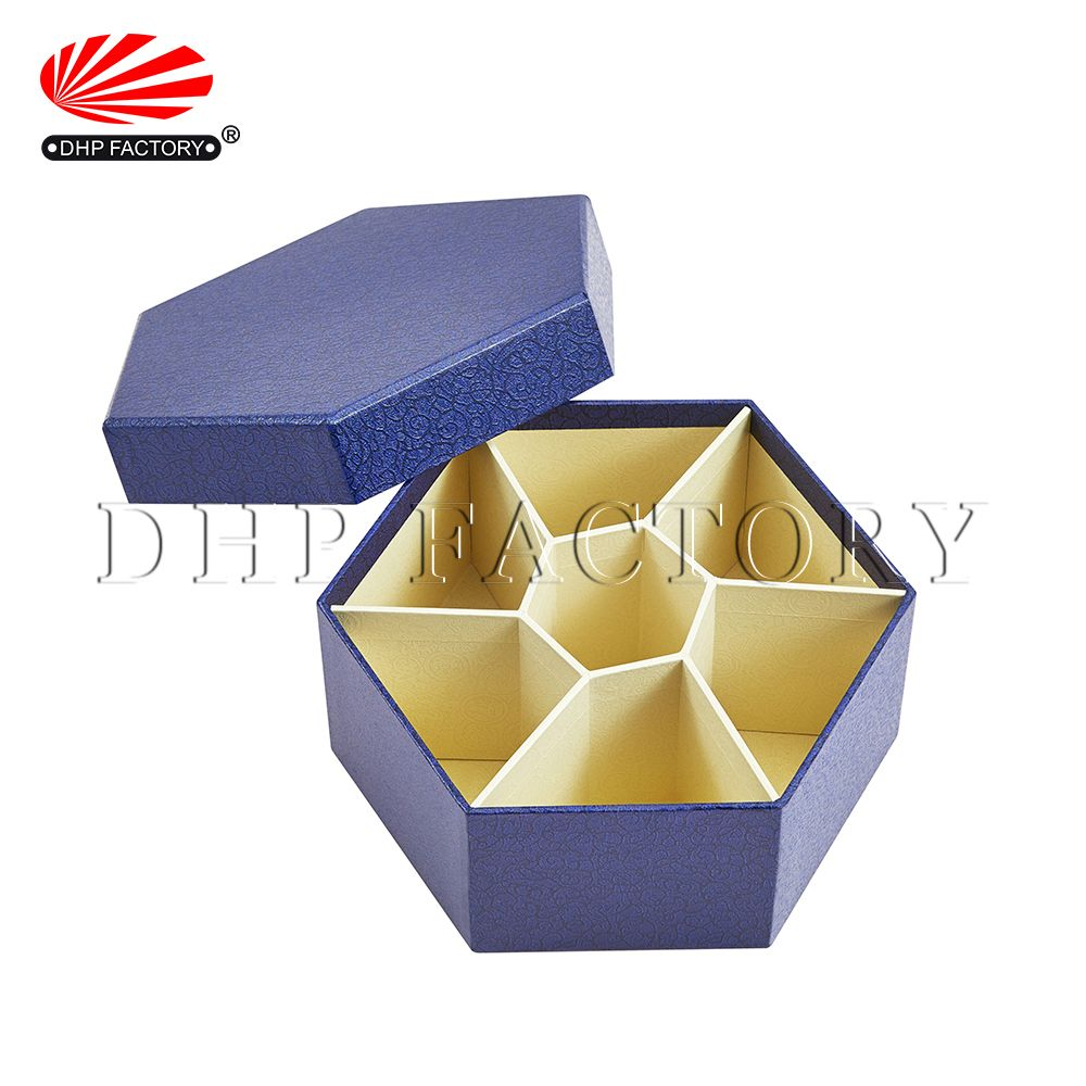 Download Prodcut Image Hexagon Design Hexagon Box Hot Foil Stamping