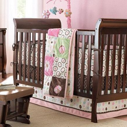 Delta® Eclipse Traditional 2 in 1 Convertible Crib, 6322