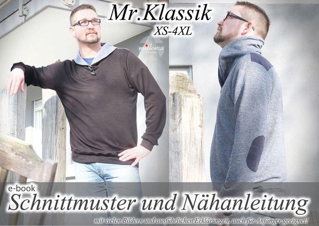 Mr. Klassik Herren Pullover Gr. XS-4XL Hoodie