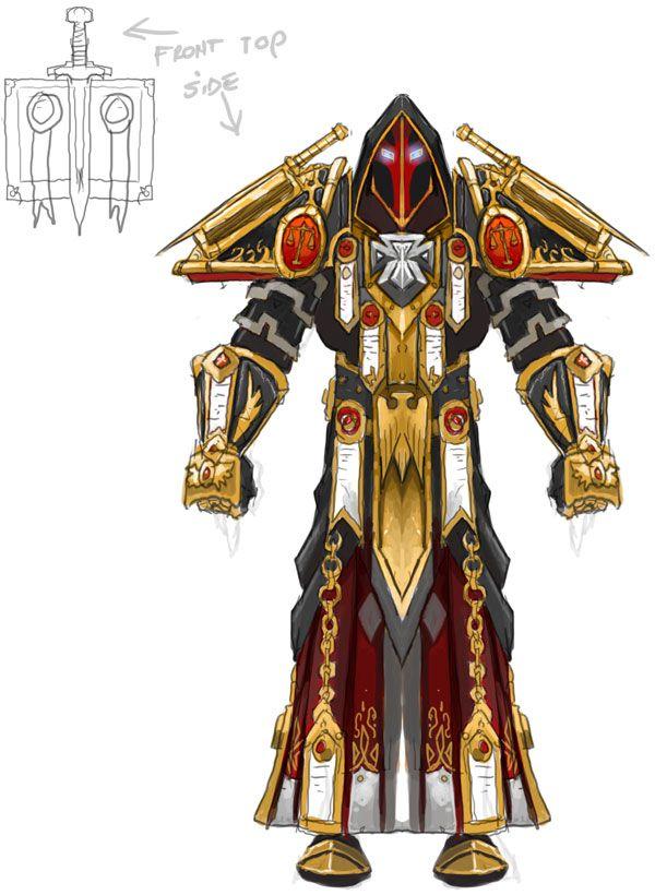 WoW - Paladin Tier 2 Judgement Armor   World of warcraft paladin, World of warcraft druid, Paladin