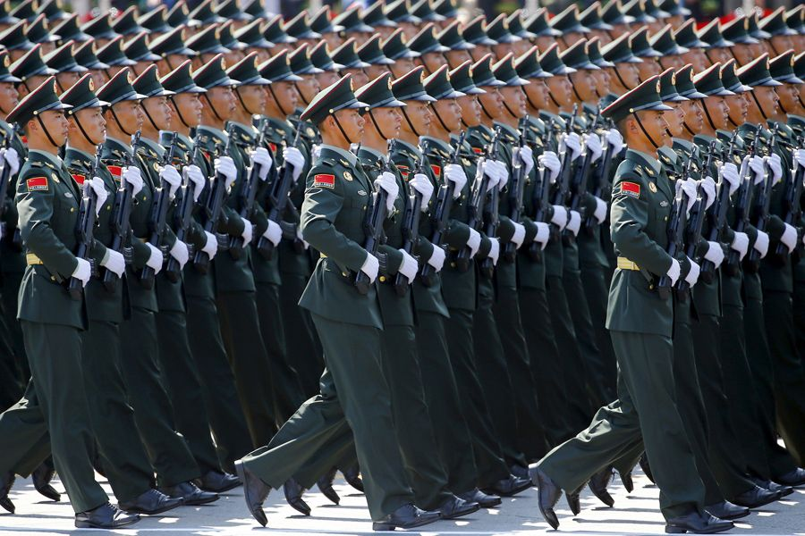 China Stages a Massive Military Parade to Commemorate the End of World War II - The Atlantic