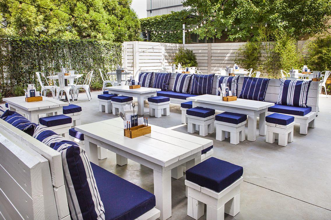 WEST MIDTOWN ATLANTA Pallet patio furniture, Outdoor