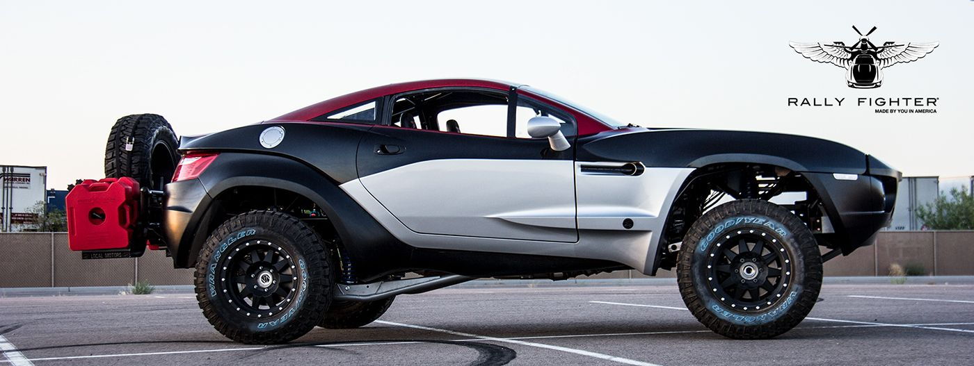 Local Motors Rally Fighter >> Local Motors Rally Fighter Gen 2 Interior On Behance Rally