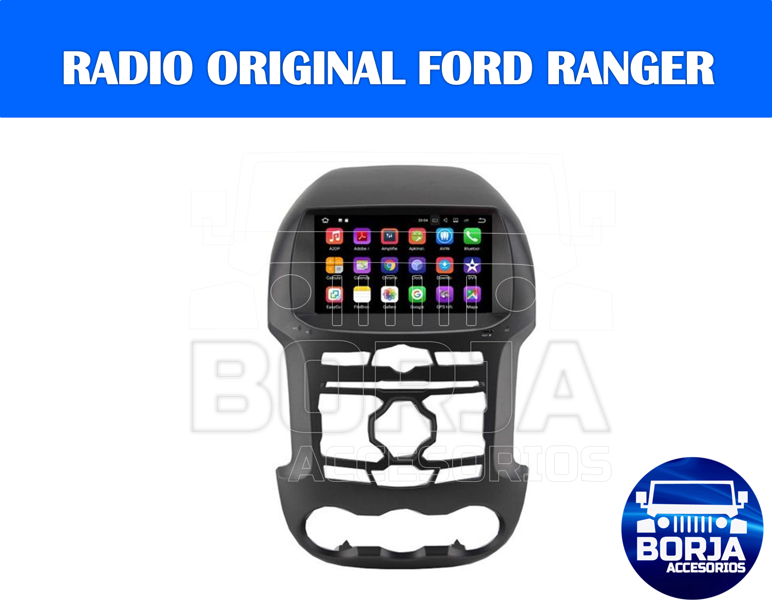 Radio Original Ford Ranger 2016 Ford Ranger Ford Ranger 2016