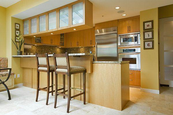 Desayunador kitchen pinterest cocinas con for Decoracion de interiores cocinas