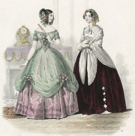 1840 1850s Dickens Victorian Costuming For Women Victorian Fashion Victorian Gown Summer Gowns