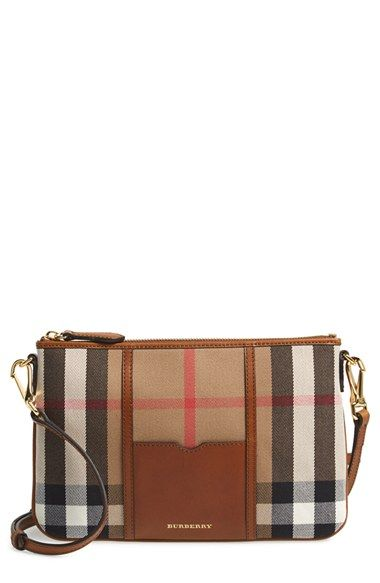 660711d871dc Free shipping and returns on Burberry  Peyton - House Check  Crossbody Bag  at Nordstrom.com. Burberry s distinctive House check and logo detail this  rich