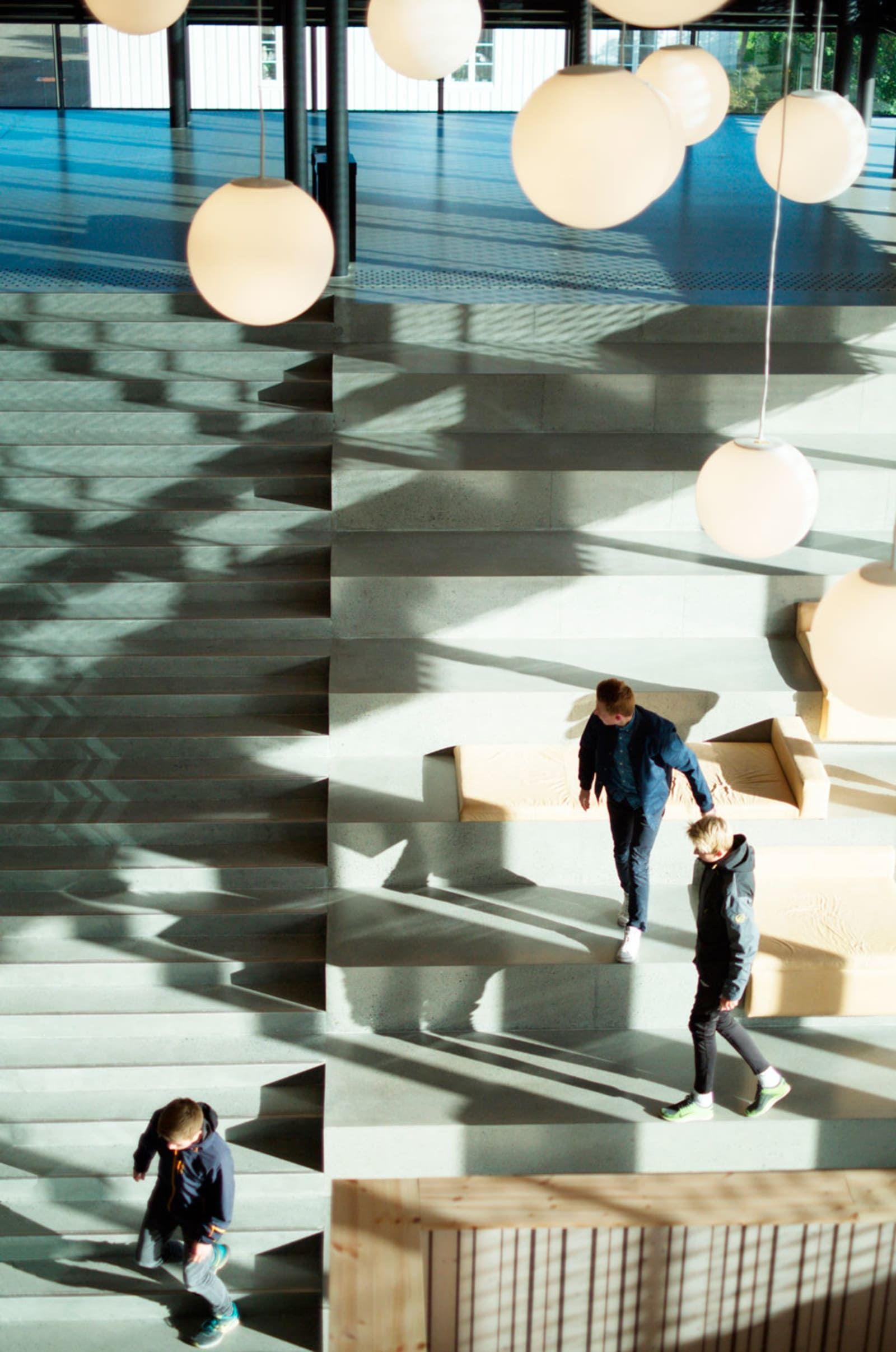 Reiulf Ramstad Architects, Lusparken arkitekter, JSTArkitekter, Wenzel Prokosch · Cultural Center Stjørdal