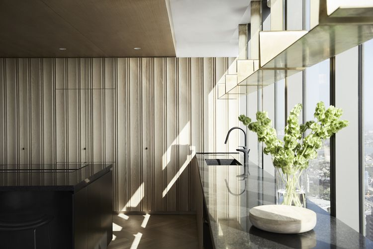John Wardle Architects Freshwater Place Apartment Southbank Design AwardsKitchen
