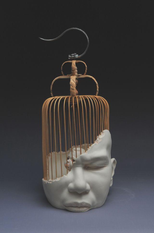 Johnson Tsang at International Ceramic Biennale 2015 Exhibit