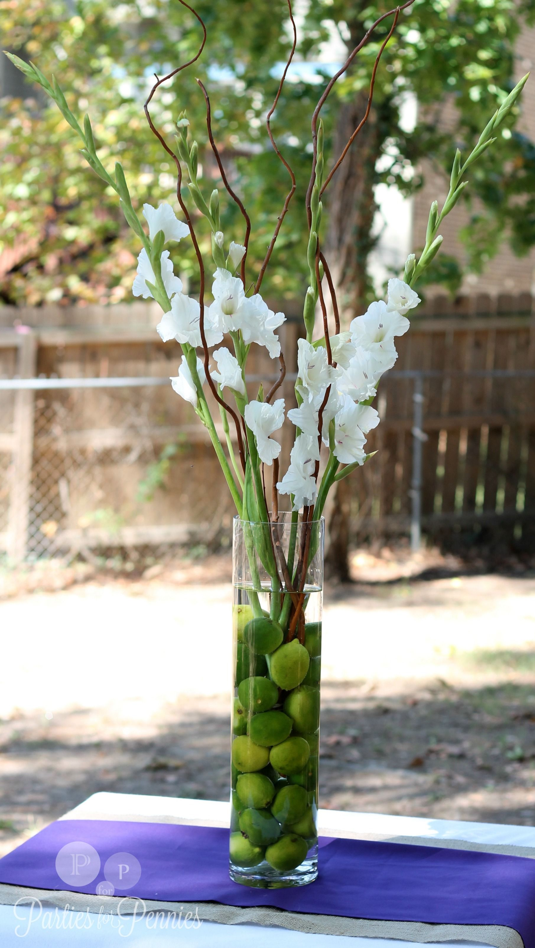 Gladiolus Wedding On Pinterest Gladiolus Centerpiece
