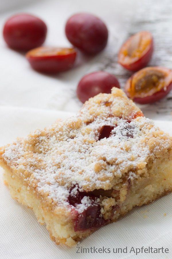 Mirabellen-Streuselkuchen nach Omas Rezept - Zimtkeks und Apfeltarte
