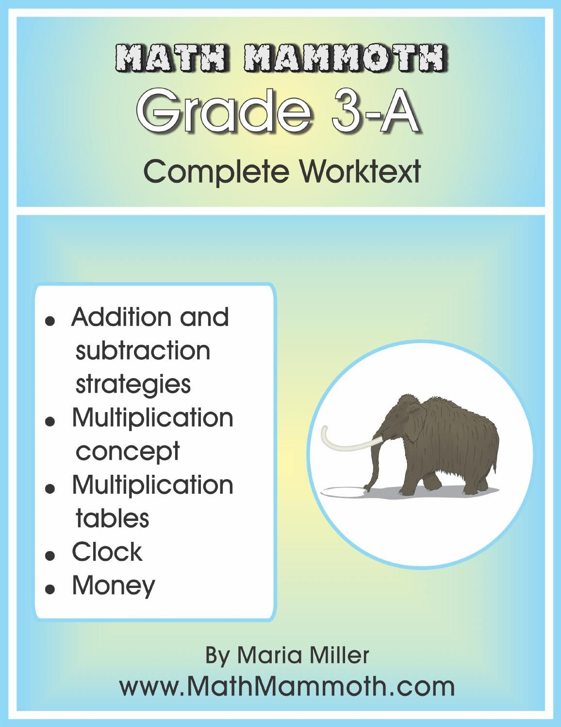 Mathmammoth Grade 3 A