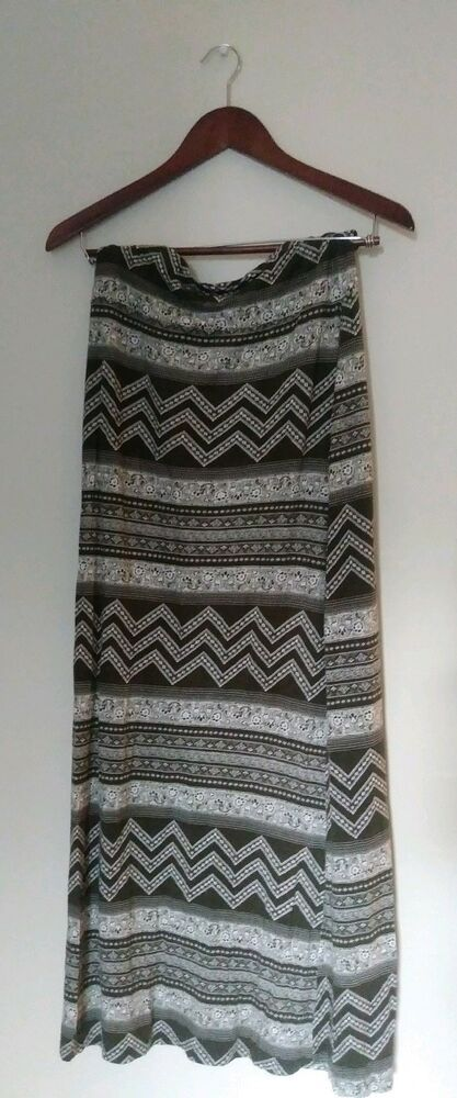 07e90591d4 Charlotte Russe Maxi Skirt Womens Size M Made In The USA Patterned Long  #fashion #clothing #shoes #accessories #womensclothing #skirts (ebay link)