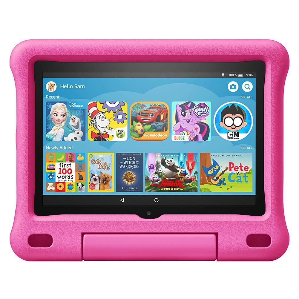 Amazon Fire 8 Kids Edition Tablet Bundle With Voucher 9701501 Hsn Kid Tablet Kids Tablet Tablet