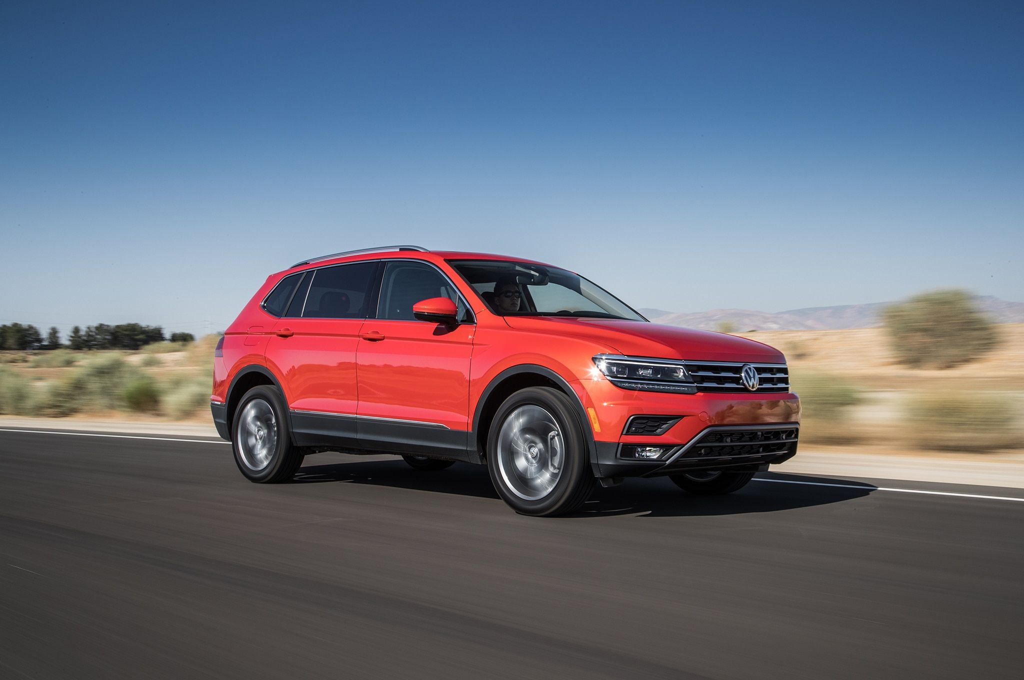 Volkswagen introduced the threerow Atlas crossover this