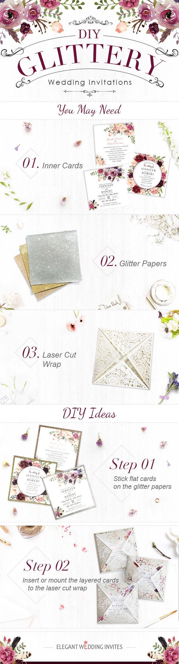 Top diy wedding invitations ideas by elegant wedding invites