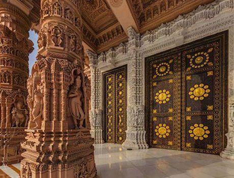 Akshardham Temple Gandhinagar พ นหล ง