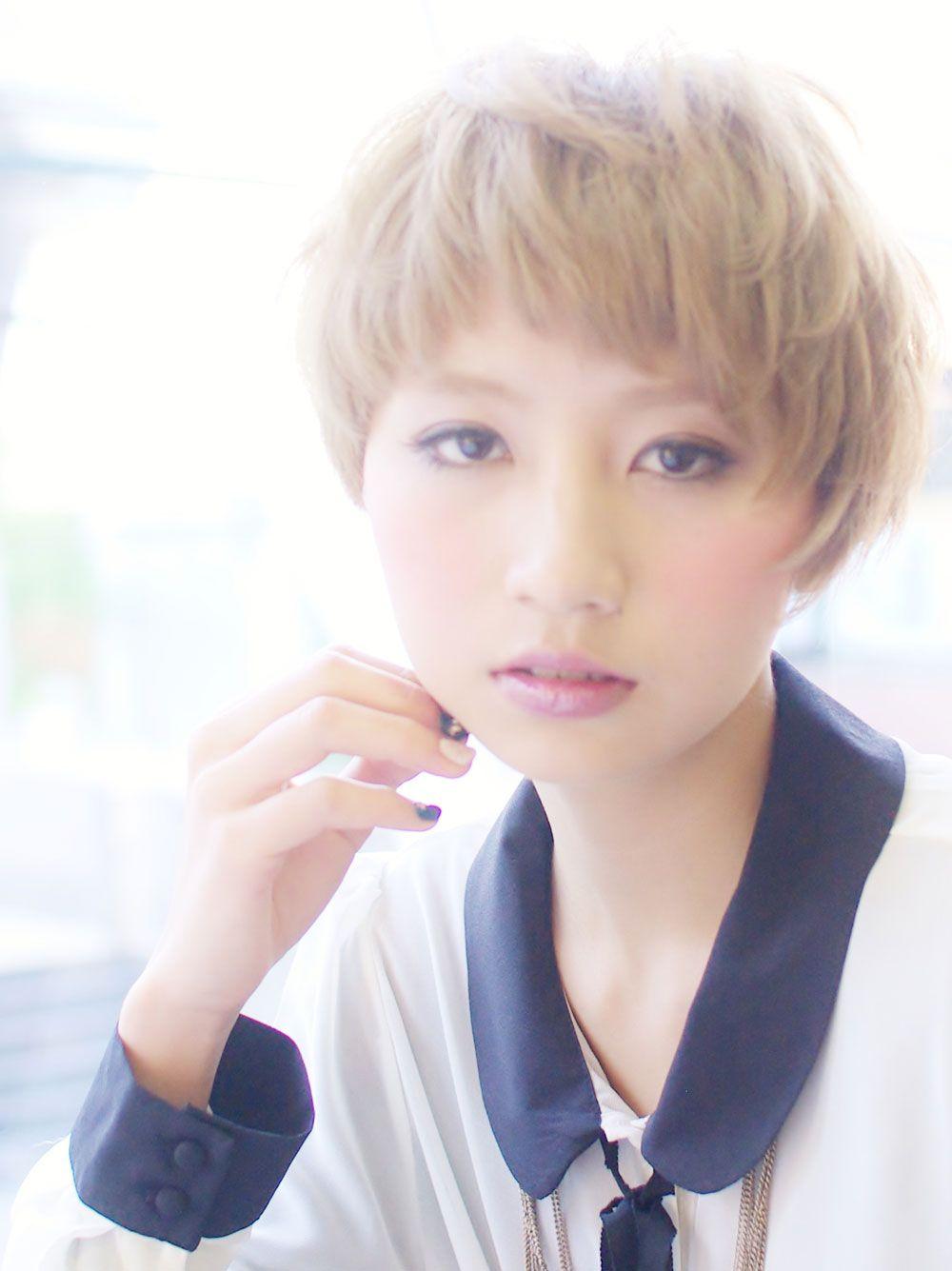 ヘアメニュー:カット&カラー  担当:西森友弥