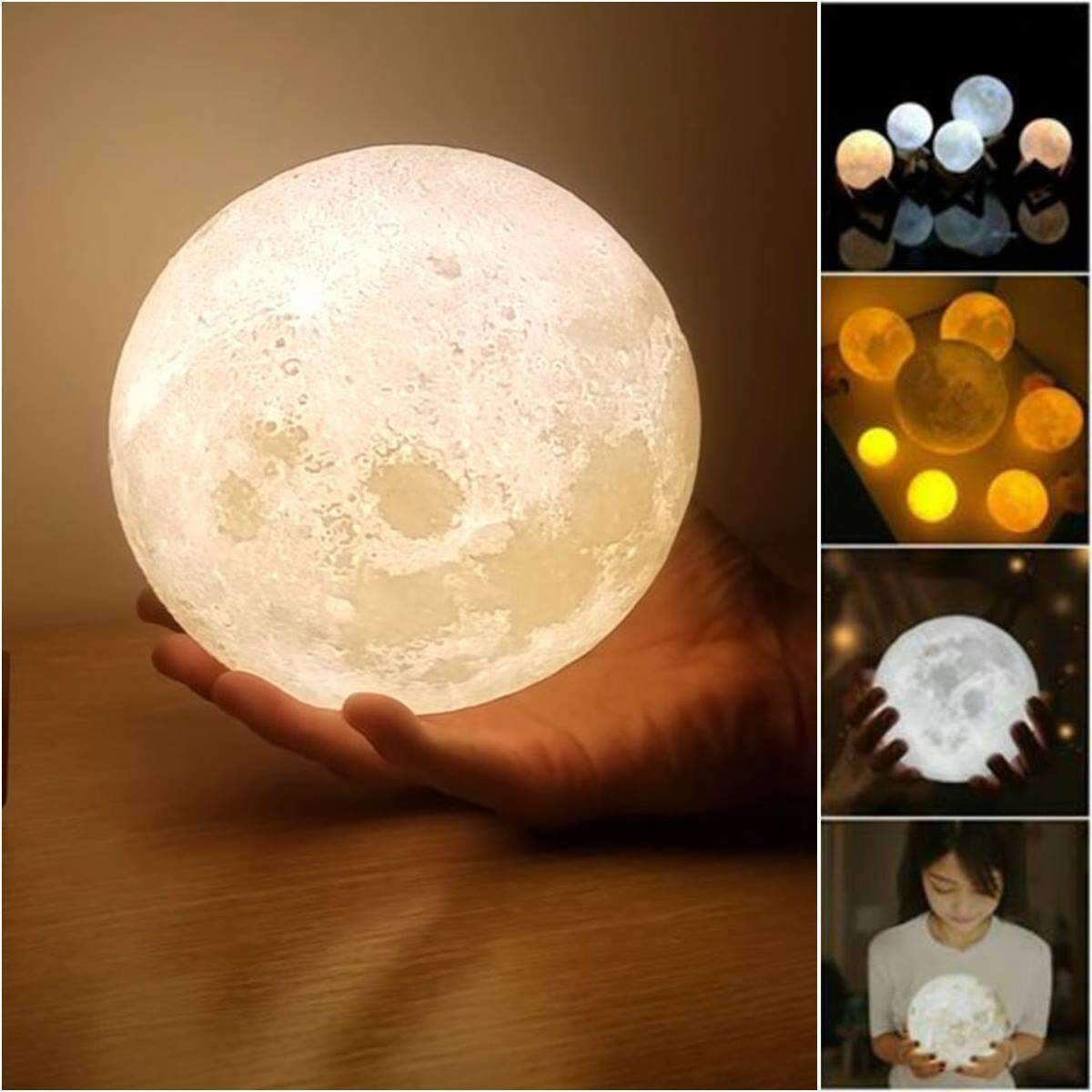 Bring The Moon Out Of The Night Sky And Into Your Home With This Elegant 3d Lunar Decorative Moon Lamp E Asian Home Decor Awesome Bedrooms Japanese Home Decor