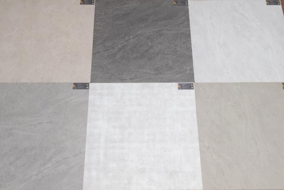 Top Cushion Stone Modular Vinyl Flooring.' This new product is heavy AU48