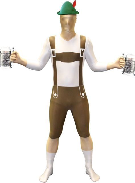 Adult Lederhosen Morphsuit - Party City Canada Lederhosen - party city store costumes