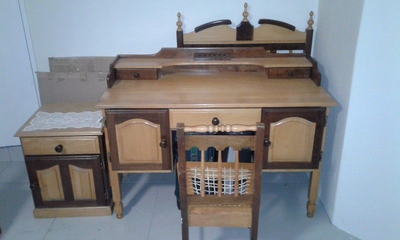 Yellow Wood Bedroom Furniture Wood Bedroom Dutch Furniture Antiques For Sale