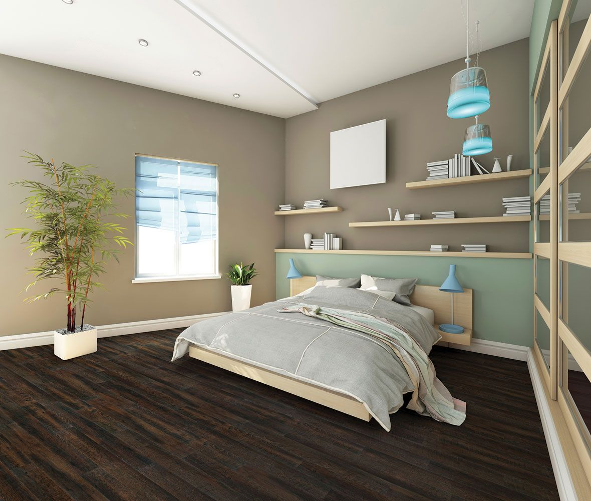Clean Slate Fresh Start Bedroom Interior Home Carpet Luxury Vinyl Plank Flooring