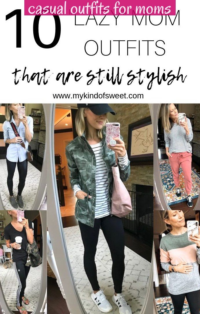 Lazy Mom Outfits That Are Still Stylish No Denim Allowed