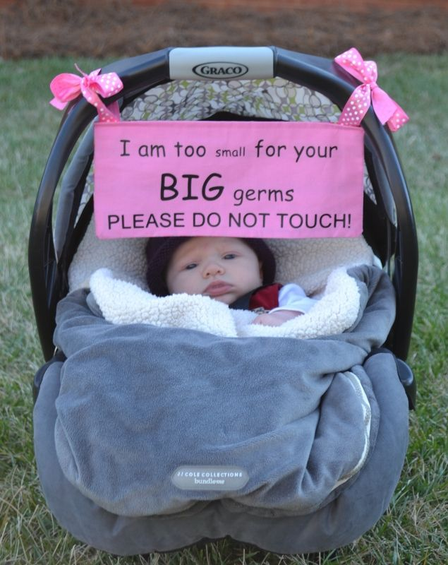 Beautiful Baby Safety Sign Please Dont Touch For Baby Newborn Stroller Tag Car Seat Sign Shower Gift Mar-20 Pretty And Colorful Strollers Accessories Activity & Gear
