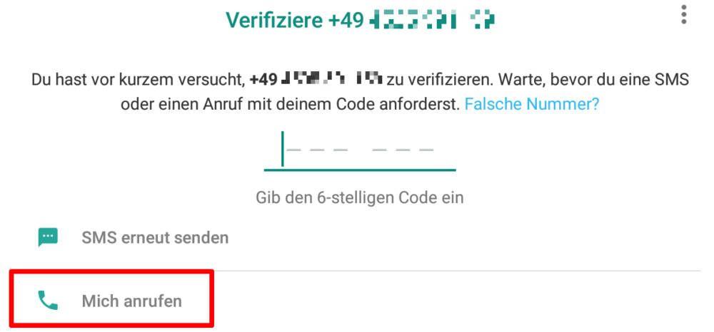 Whatsapp Verifizierung Wartezeit Umgehen